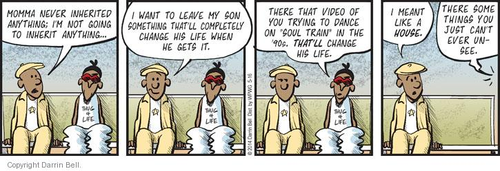 Comic Strip Darrin Bell  Candorville 2014-05-16 something