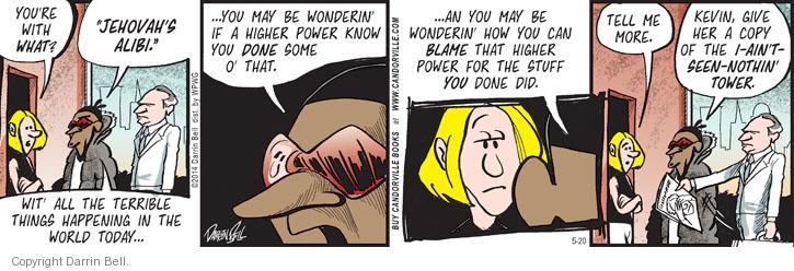 Comic Strip Darrin Bell  Candorville 2014-05-20 world