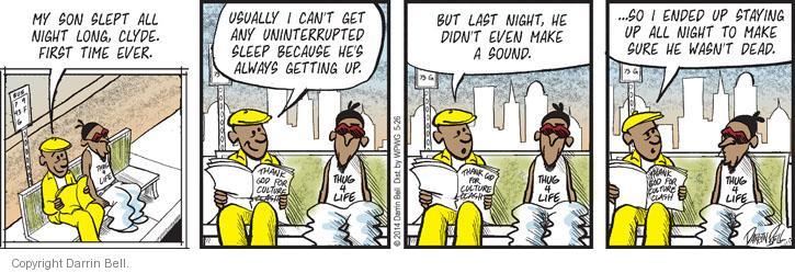 Comic Strip Darrin Bell  Candorville 2014-05-26 sleep