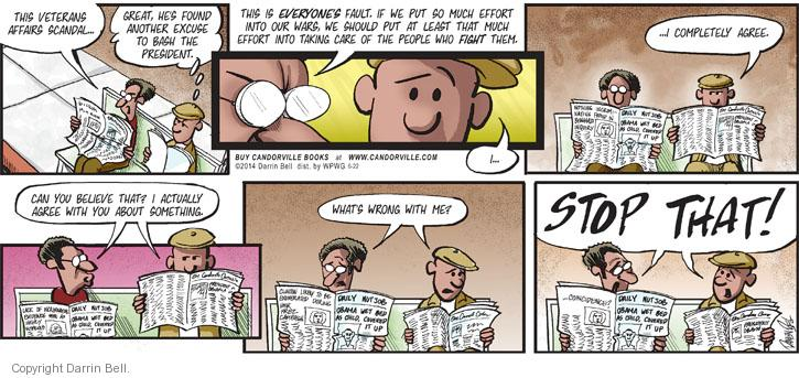 Comic Strip Darrin Bell  Candorville 2014-06-22 administration
