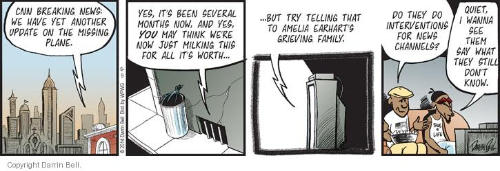 Comic Strip Darrin Bell  Candorville 2014-06-09 flight