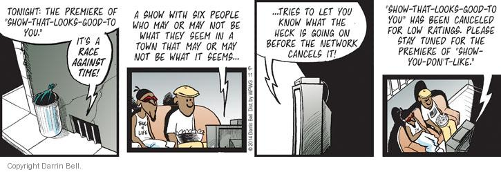 Comic Strip Darrin Bell  Candorville 2014-06-11 programming