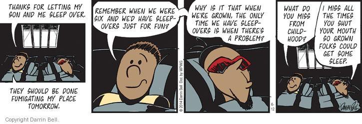Comic Strip Darrin Bell  Candorville 2014-06-12 lets