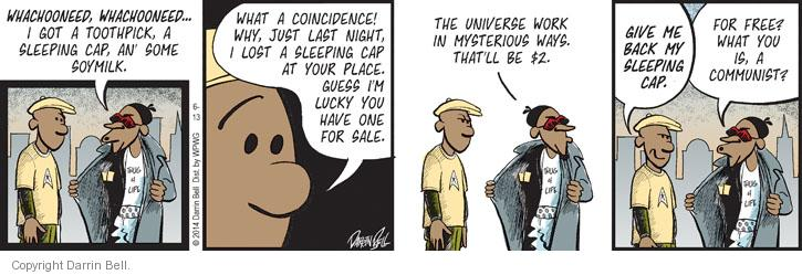 Comic Strip Darrin Bell  Candorville 2014-06-13 theft