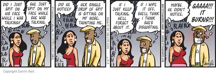 Comic Strip Darrin Bell  Candorville 2014-06-19 wipe