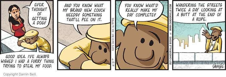 Comic Strip Darrin Bell  Candorville 2014-06-20 brand