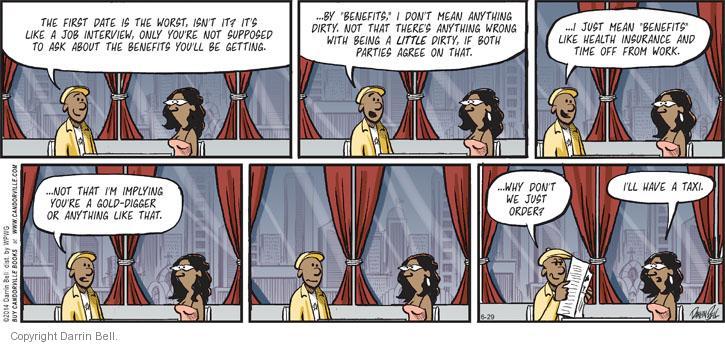 Comic Strip Darrin Bell  Candorville 2014-06-29 dirty