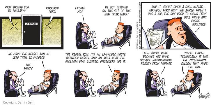 Comic Strip Darrin Bell  Candorville 2014-07-06 psychologist
