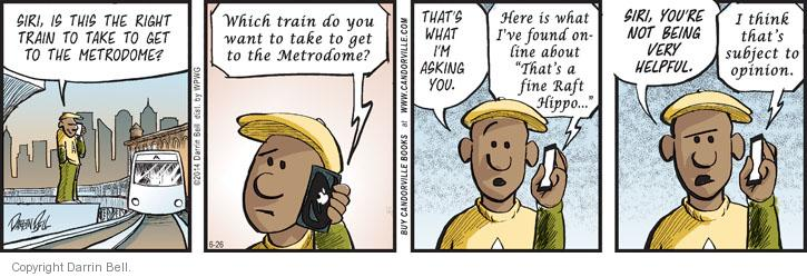 Comic Strip Darrin Bell  Candorville 2014-06-26 assistant