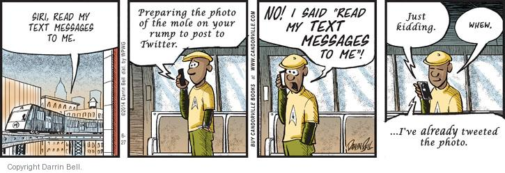 Comic Strip Darrin Bell  Candorville 2014-06-27 embarrass