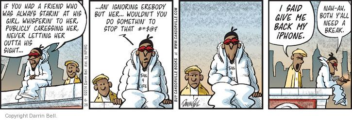 Comic Strip Darrin Bell  Candorville 2014-06-28 friendship