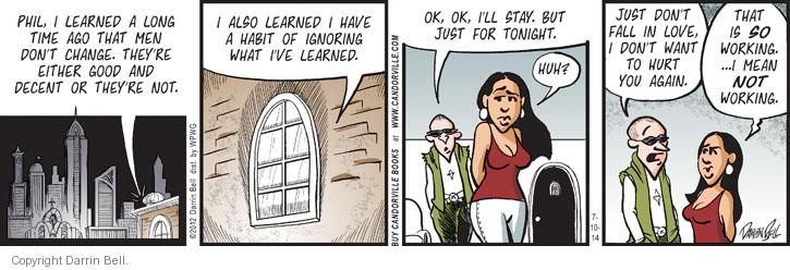 Comic Strip Darrin Bell  Candorville 2014-07-10 good or bad