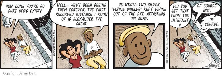 Comic Strip Darrin Bell  Candorville 2014-07-12 army