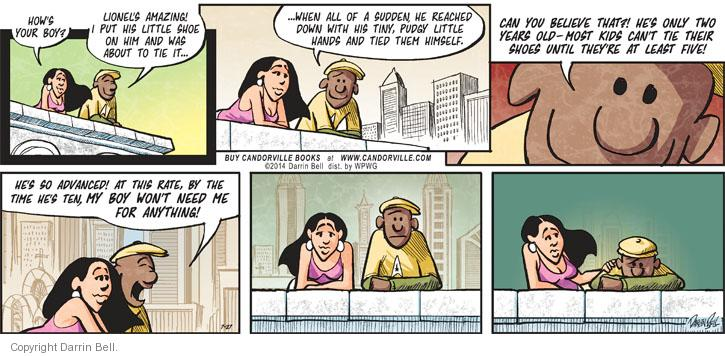 Comic Strip Darrin Bell  Candorville 2014-07-27 rate