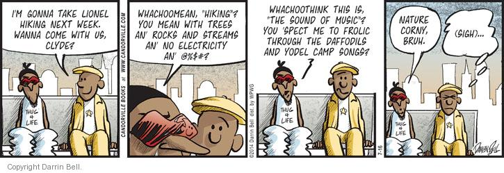Comic Strip Darrin Bell  Candorville 2014-07-16 reality