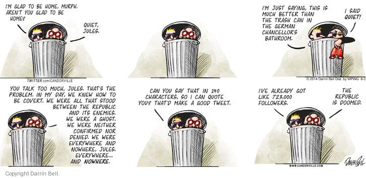 Comic Strip Darrin Bell  Candorville 2014-08-03 everywhere