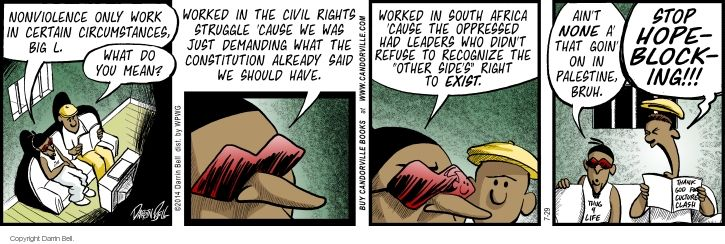 Comic Strip Darrin Bell  Candorville 2014-07-29 civil rights