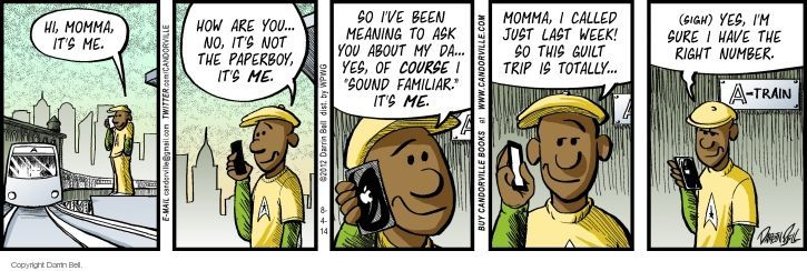 Cartoonist Darrin Bell  Candorville 2014-08-04 momma