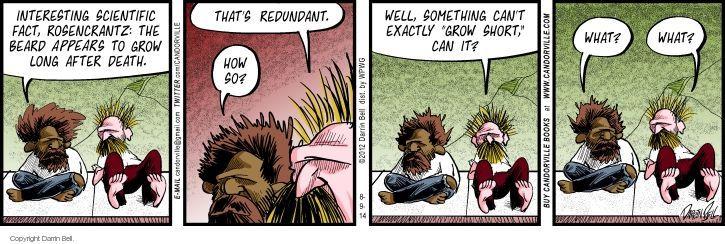 Comic Strip Darrin Bell  Candorville 2014-08-09 science