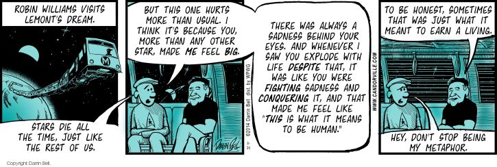 Comic Strip Darrin Bell  Candorville 2014-08-20 depression