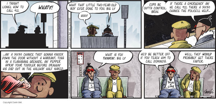 Comic Strip Darrin Bell  Candorville 2014-09-07 guidance
