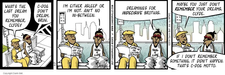Comic Strip Darrin Bell  Candorville 2014-08-27 real