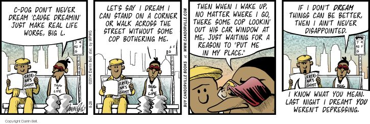 Comic Strip Darrin Bell  Candorville 2014-08-28 ethnic rights