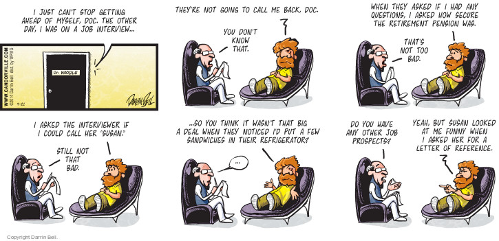 Comic Strip Darrin Bell  Candorville 2014-09-21 counselor
