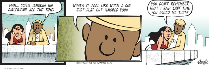 Comic Strip Darrin Bell  Candorville 2014-09-04 indifference