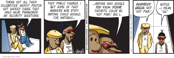 Comic Strip Darrin Bell  Candorville 2014-09-09 internet privacy