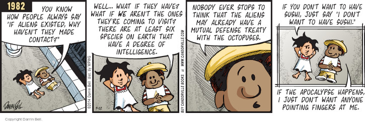 Comic Strip Darrin Bell  Candorville 2014-09-12 honesty