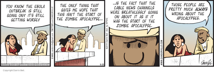 Comic Strip Darrin Bell  Candorville 2014-09-20 cable