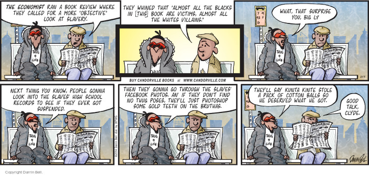 Comic Strip Darrin Bell  Candorville 2014-10-05 surprise
