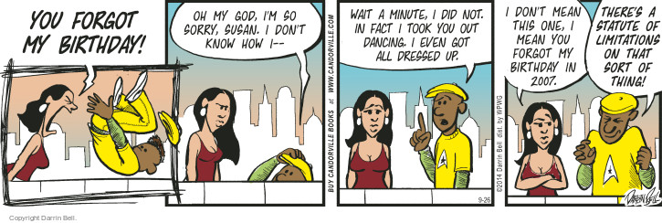 Comic Strip Darrin Bell  Candorville 2014-09-26 2007