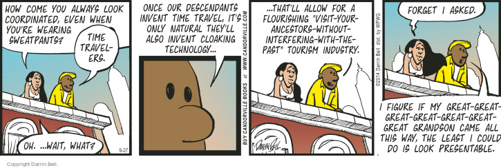 Comic Strip Darrin Bell  Candorville 2014-09-27 invent