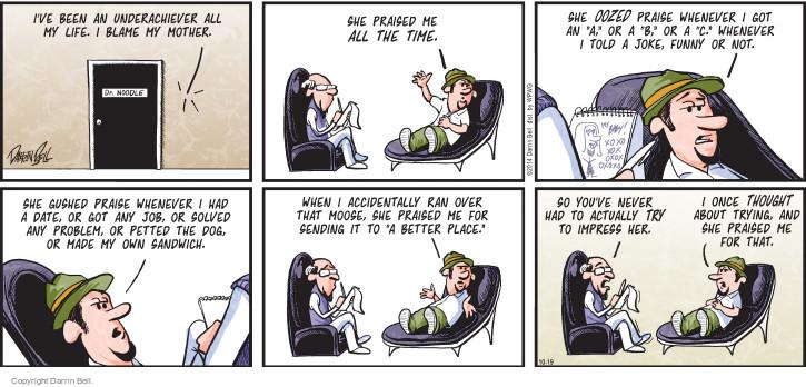 Comic Strip Darrin Bell  Candorville 2014-10-19 problem solved