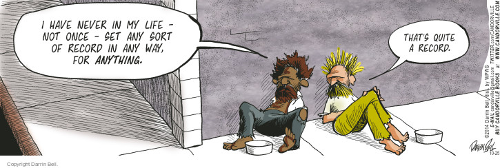 Comic Strip Darrin Bell  Candorville 2014-10-25 setting