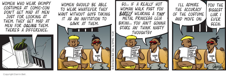 Comic Strip Darrin Bell  Candorville 2014-10-28 invitation