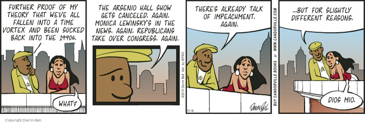Comic Strip Darrin Bell  Candorville 2014-11-18 Barack Obama