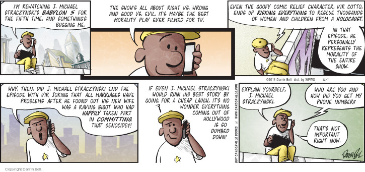 Comic Strip Darrin Bell  Candorville 2014-12-07 marriage