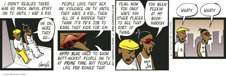 Comic Strip Darrin Bell  Candorville 2014-11-29 web