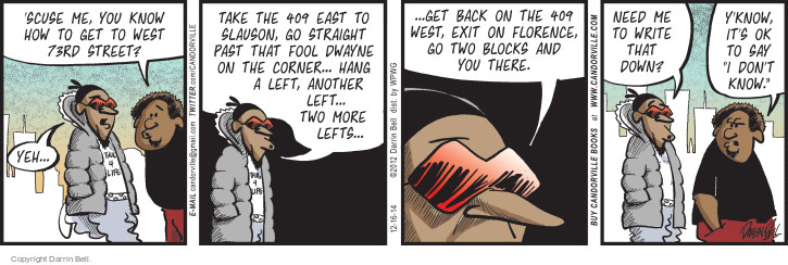 Comic Strip Darrin Bell  Candorville 2014-12-16 block