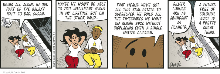 Comic Strip Darrin Bell  Candorville 2015-01-03 native