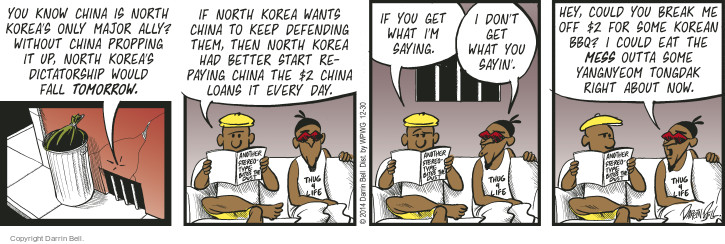 Comic Strip Darrin Bell  Candorville 2014-12-30 China