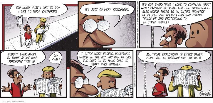 Comic Strip Darrin Bell  Candorville 2015-02-01 other