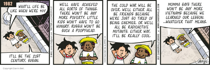 Comic Strip Darrin Bell  Candorville 2015-02-04 Cold War