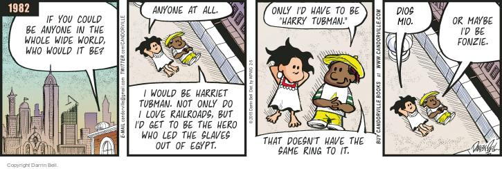 Comic Strip Darrin Bell  Candorville 2015-02-05 World History