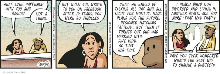 Comic Strip Darrin Bell  Candorville 2015-02-18 month
