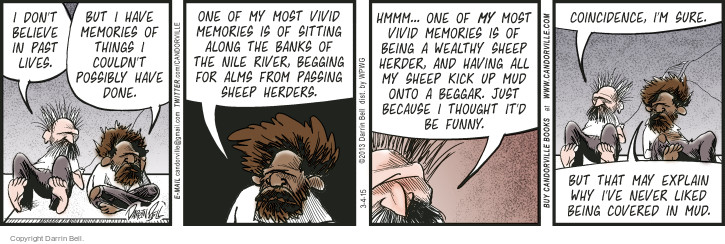 Comic Strip Darrin Bell  Candorville 2015-03-04 bank