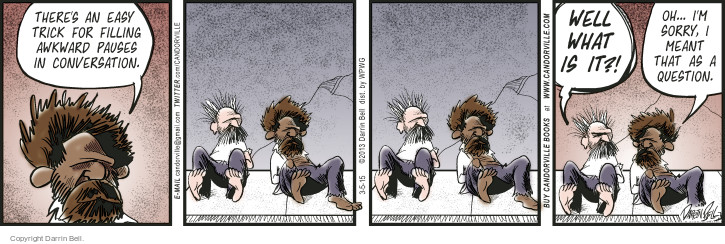 Comic Strip Darrin Bell  Candorville 2015-03-05 meant
